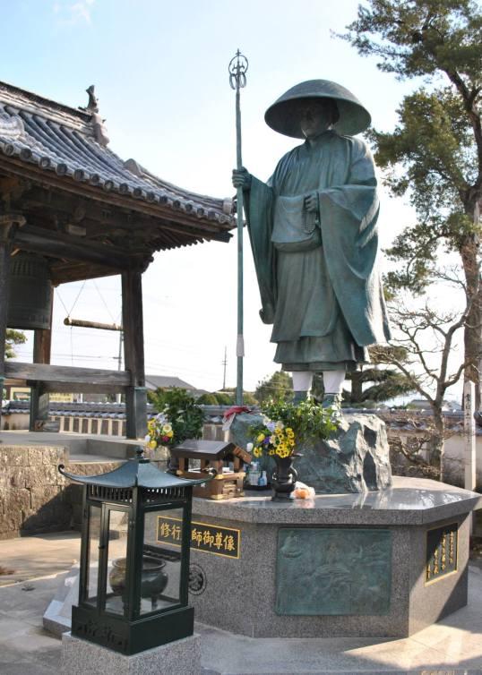 Kobo Daishi statue at Temple 5