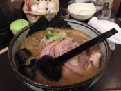 First bowl of Miso Ramen!