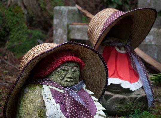 Jizo at Okunoin