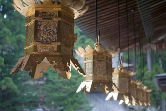 Lanterns at the Garan