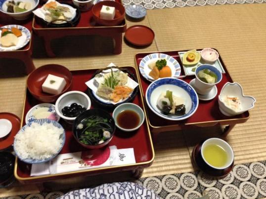 Shojoshin-in Dinner Day 4
