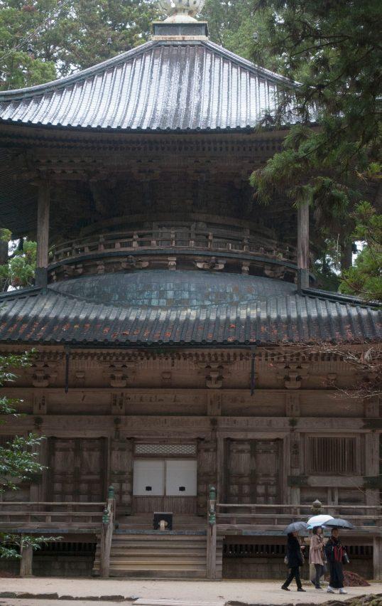 Pagoda at Koya-San Garan