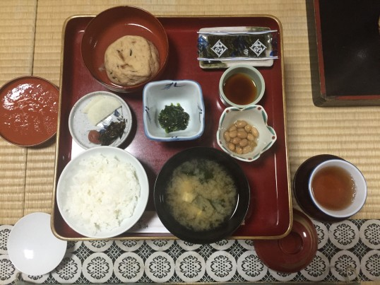 Shojoshin-In Breakfast