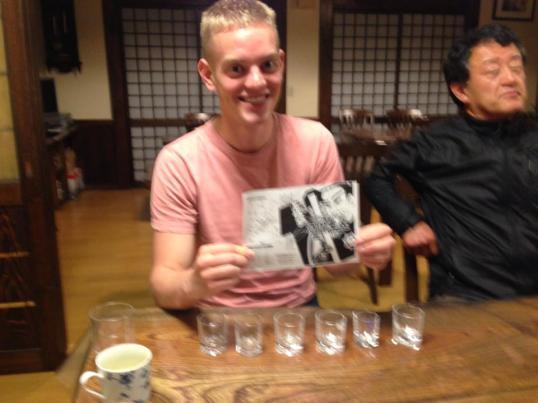 Kochi Youth Hostel Sake Tasting