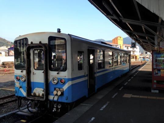 One Man Train in Uwajima