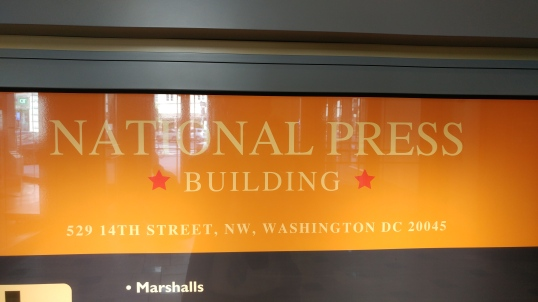 National Press Building Entrance