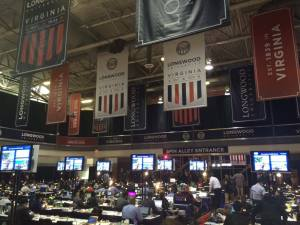 Media center for the VP debate